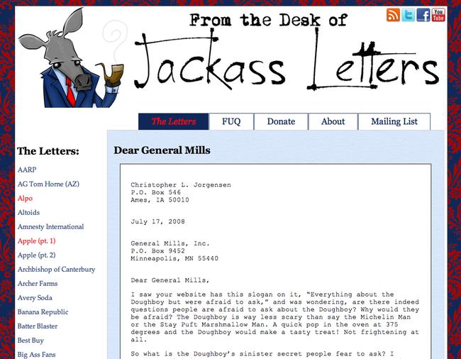 Jackass Letters