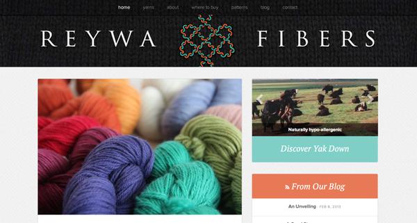 Reywa Fibers Homepage